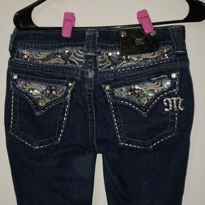 Miss Me Jeans Easy Skinny JE5758ESR Size 27